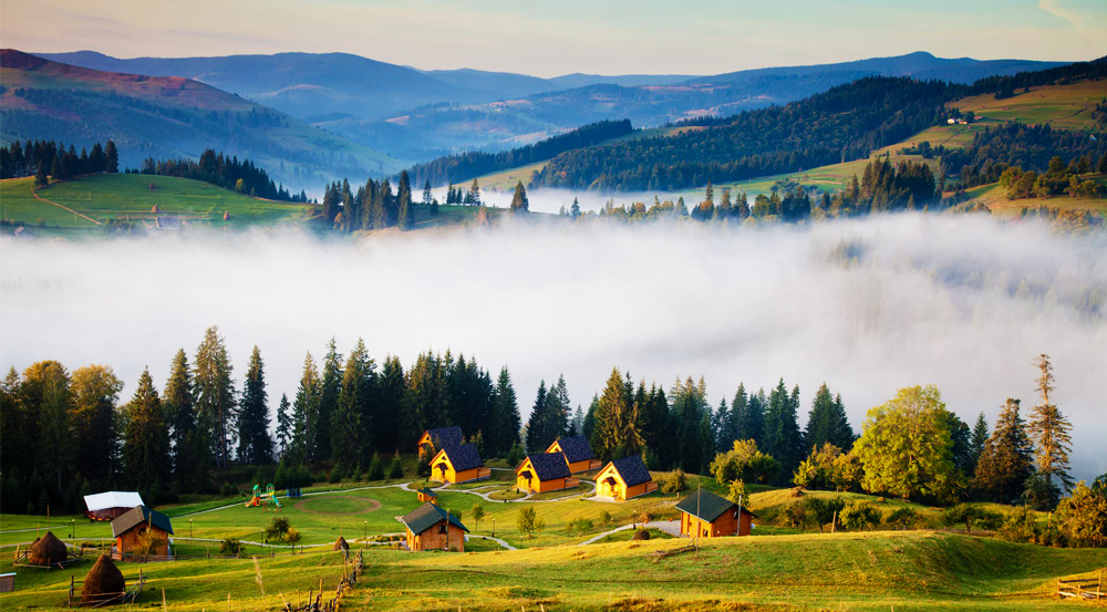 Summer rest in the Carpathians
